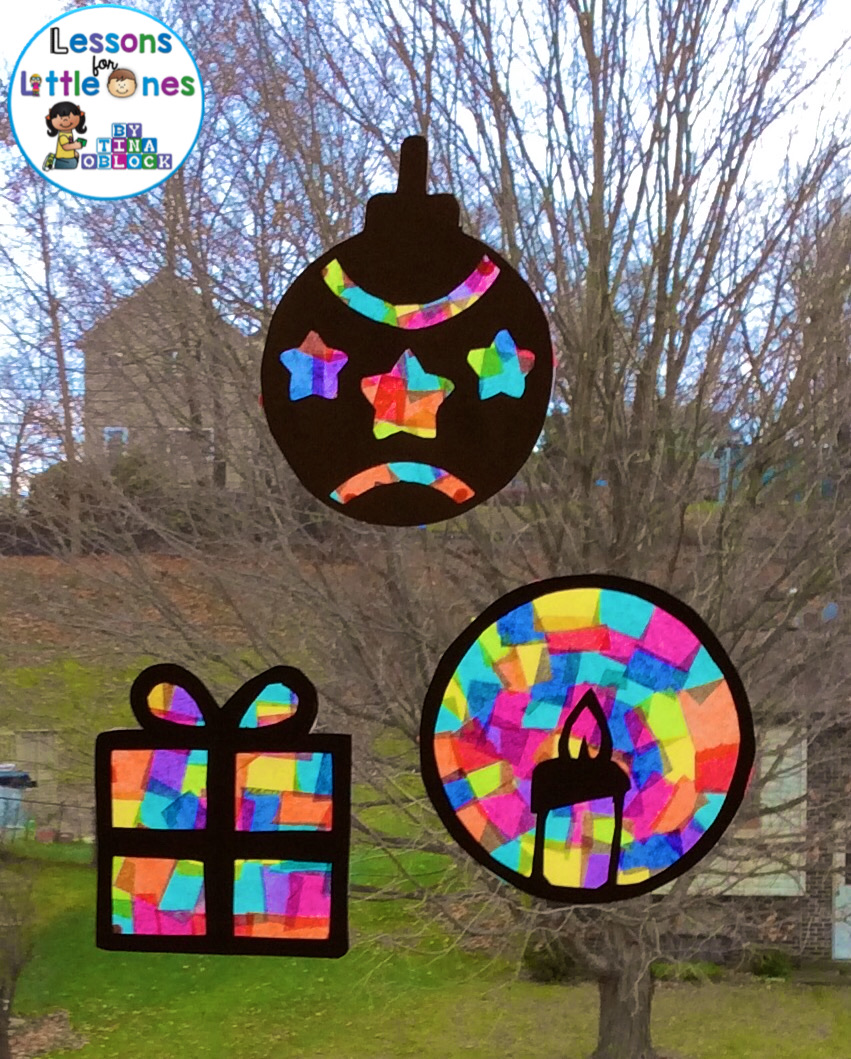 Creative Science Classroom Decorations ~ Christmas silhouette window decorations lessons for