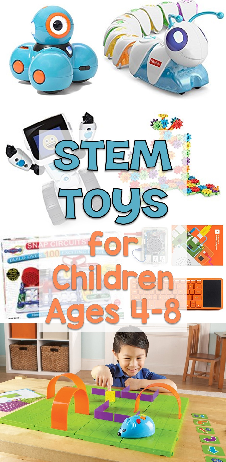 Toys For Ages 8 12 : Stem toys for children ages lessons little ones