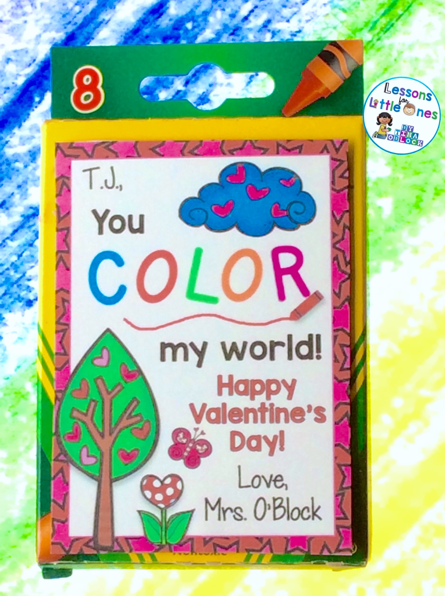 Kinder Garden: Valentine's Day Student Gift Ideas & Gift Tags