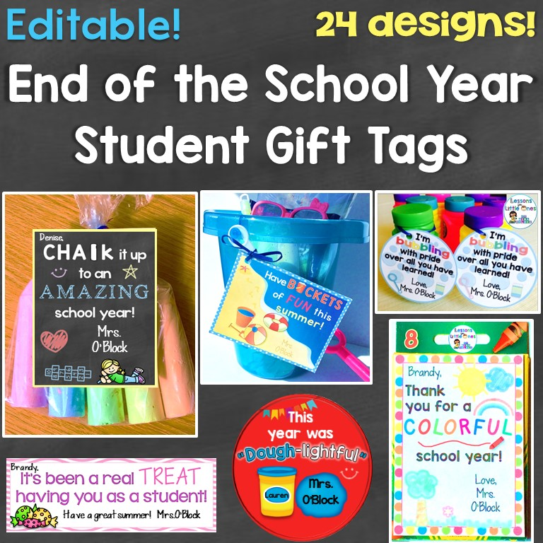 photograph relating to You Blew Me Away This Year Free Printable named Close of the 12 months Pupil Presents Present Tags - Courses for
